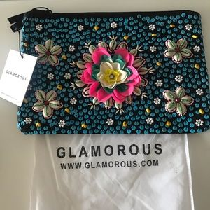 Beaded pouch bag from Glamorous